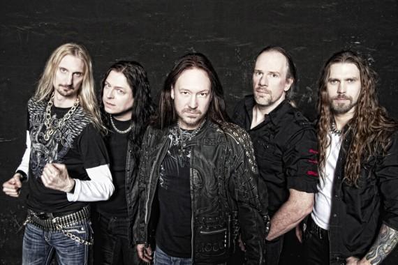 hammerfall - band - 2013