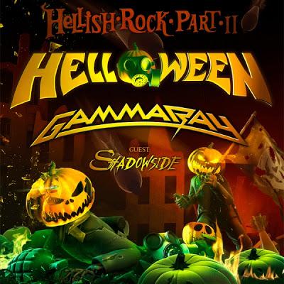 helloween + gammaray - tour 2013