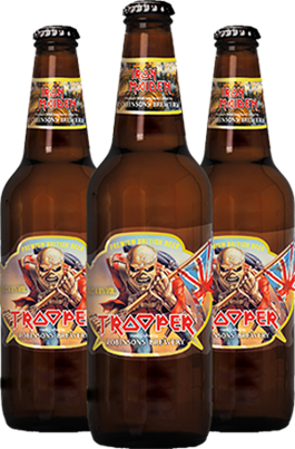 iron maiden - birra trooper - 2013