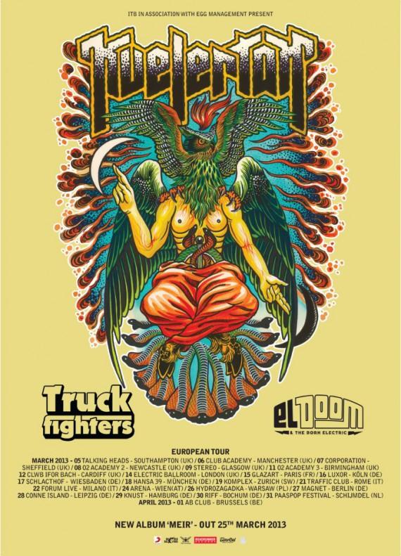 kvelertak - tour - 2013