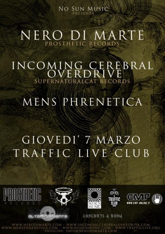nero di marte - roma - 2013