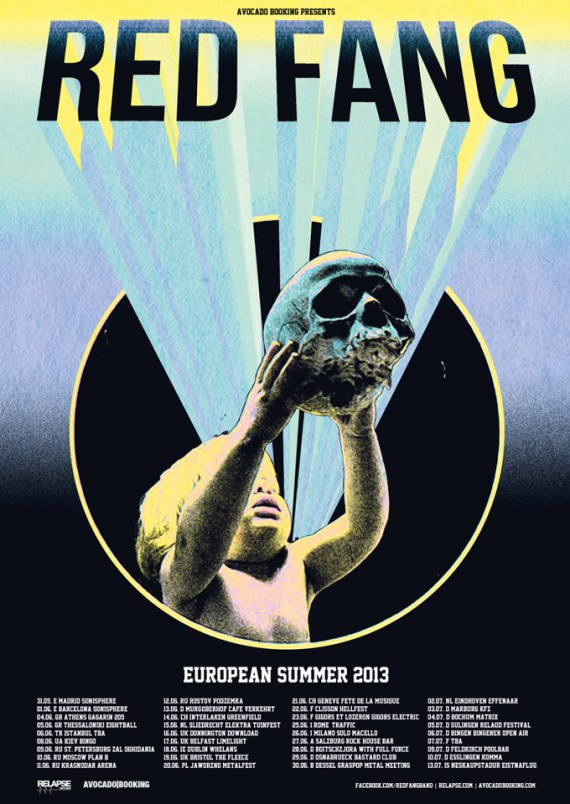 red-fang-euro-poster