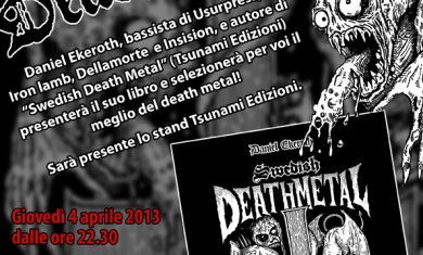swedish death metal - locandina wizard - 2013