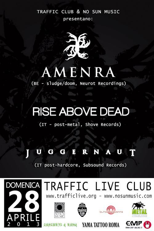 Amenra - locandina roma - 2013