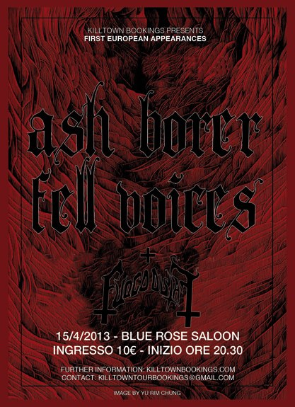 Ash Borer - Flyer