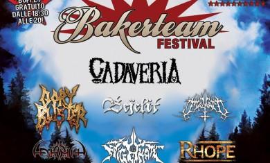 Bakerteam Festival - locandina - 2013