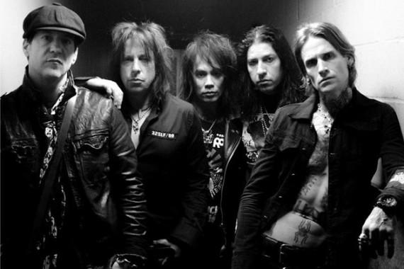 Buckcherry - band - 2013