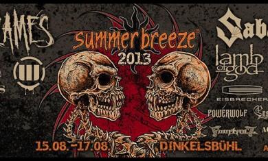 Summer Breeze - flyer 2013 - 2013