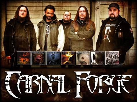 carnal forge - band - 2013