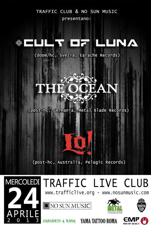 cult of luna - locandina roma - 2013