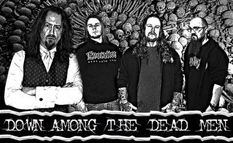 down among the dead men - band - 2013
