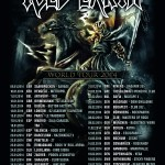 iced earth - world tour 2014