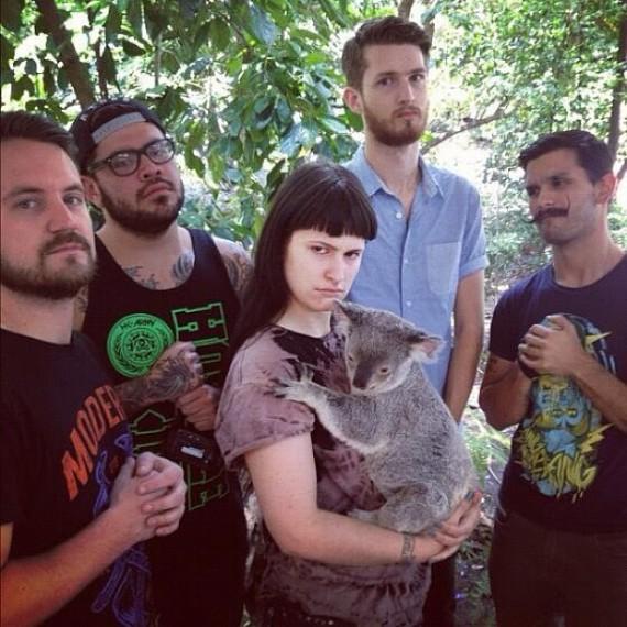 iwrestledabearonce - band - 2012