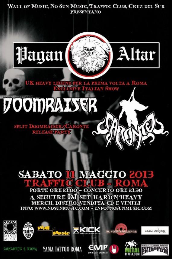 pagan altar-locandina roma - 2013