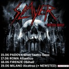 Slayer + Newsted – Milano