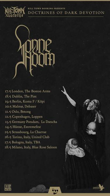 sonne adam - locandina tour - 2013
