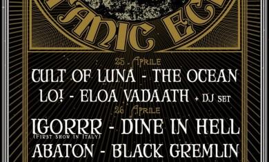 titanic echo fest - locandina - 2013