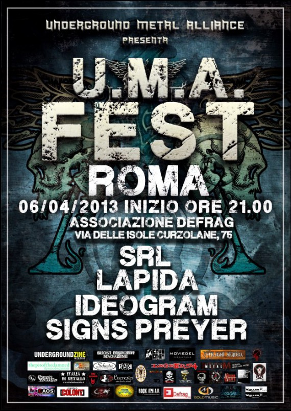 uma fest - locandina roma - 2013