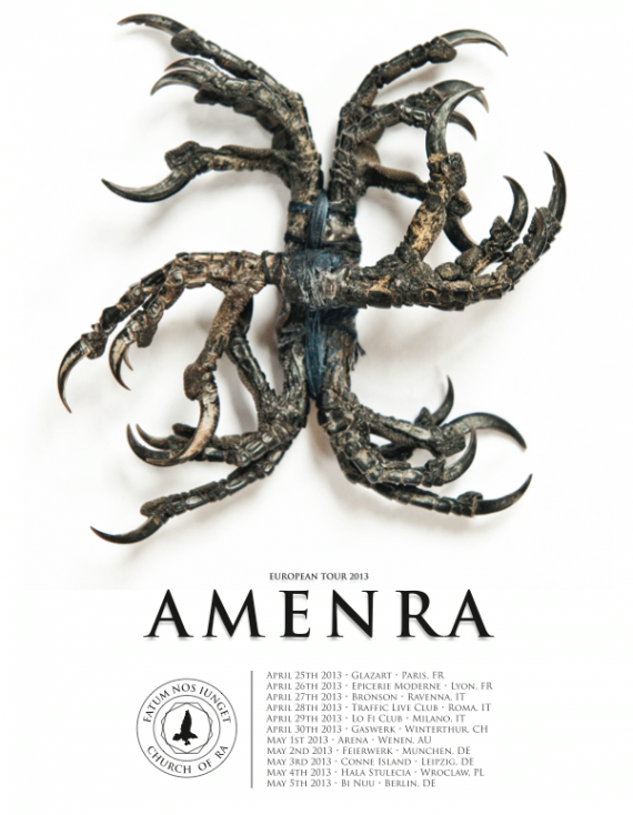 Amenra - tour - 2013