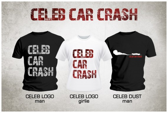 Celeb Car Crash - Maglie Concorso - 2013