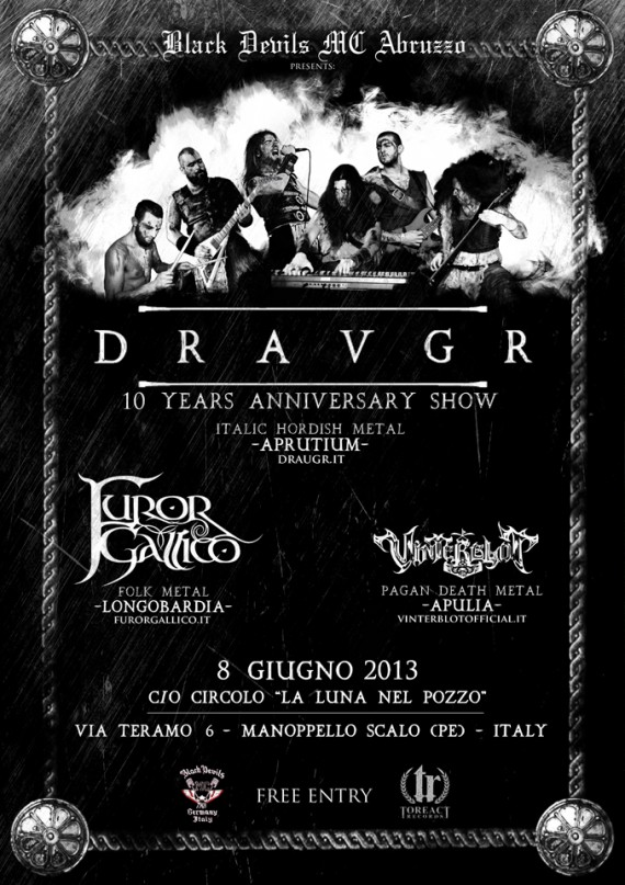 Draugr ten years anniversary show 2013