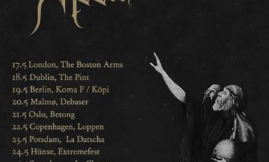 Sonne Adam - Doctrines Of Dark Devotion Tour - 2013