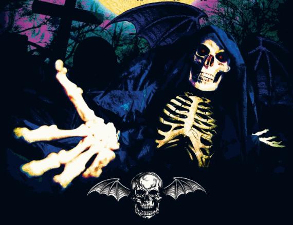 avenged sevenfold - euro tour - 2013