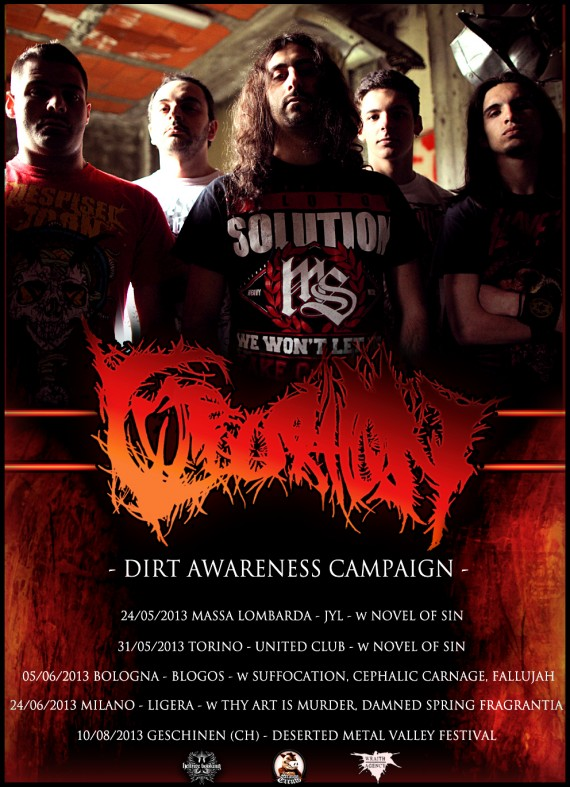 corroosion - date 2013