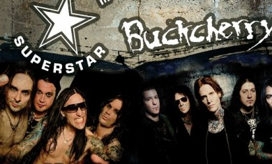 hardcore superstar buckcherry - tour - 2013