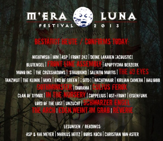 m'era luna - band - 2013