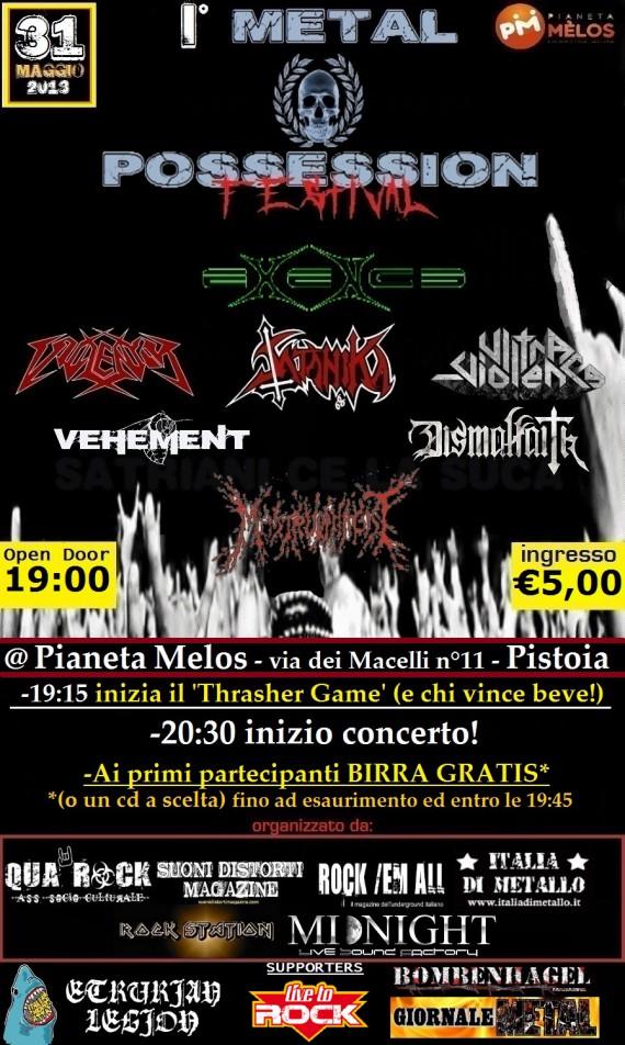 metal possession fest - locandina - 2013