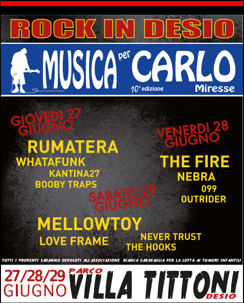 rock in desio 2013