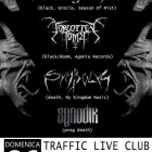 Rotting Christ + Forgotten Tomb + Symbolyc + Synodik