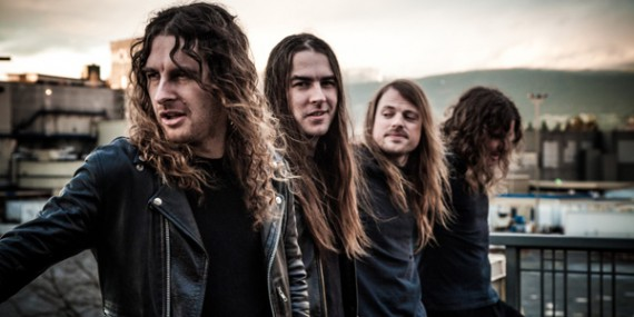 Airbourne - band - 2013