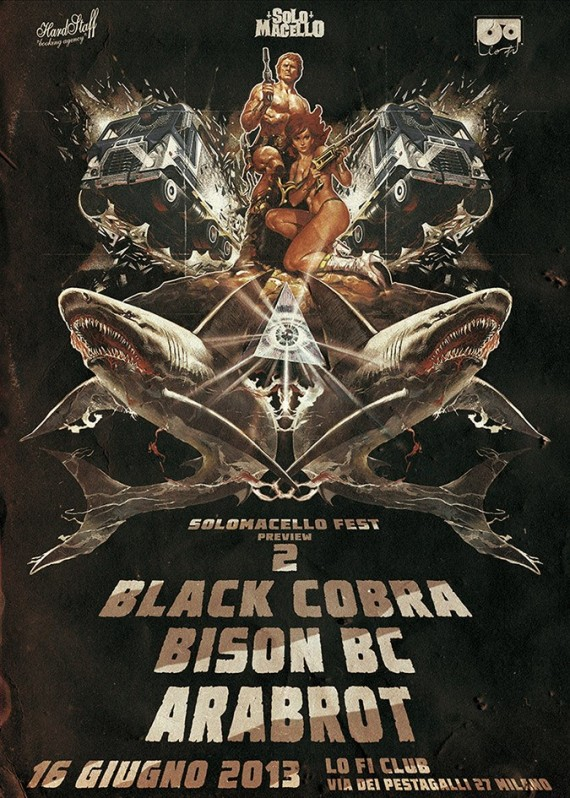 Black Cobra - flyer - 2013