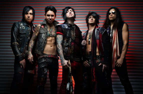 Escape The Fate - intervista band - 2013