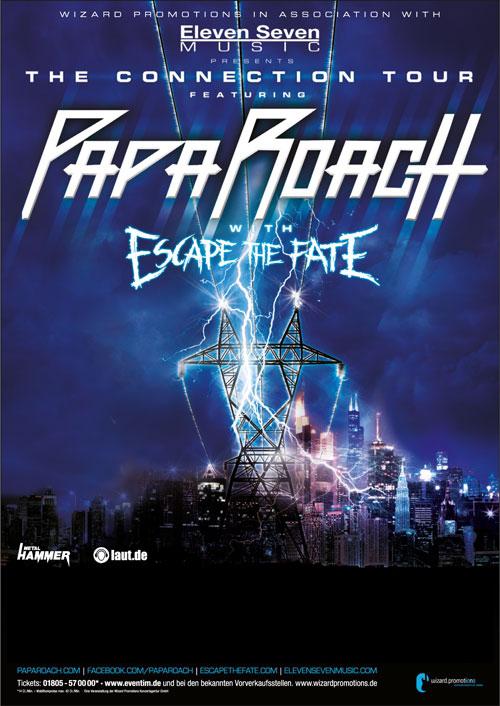 Papa Roach - locandina - 2013