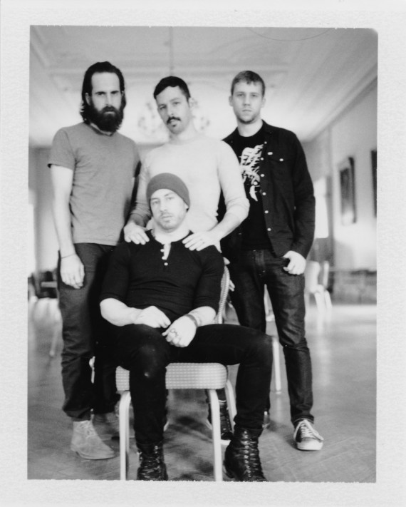 The Dillinger Escape Plan - band - 2013