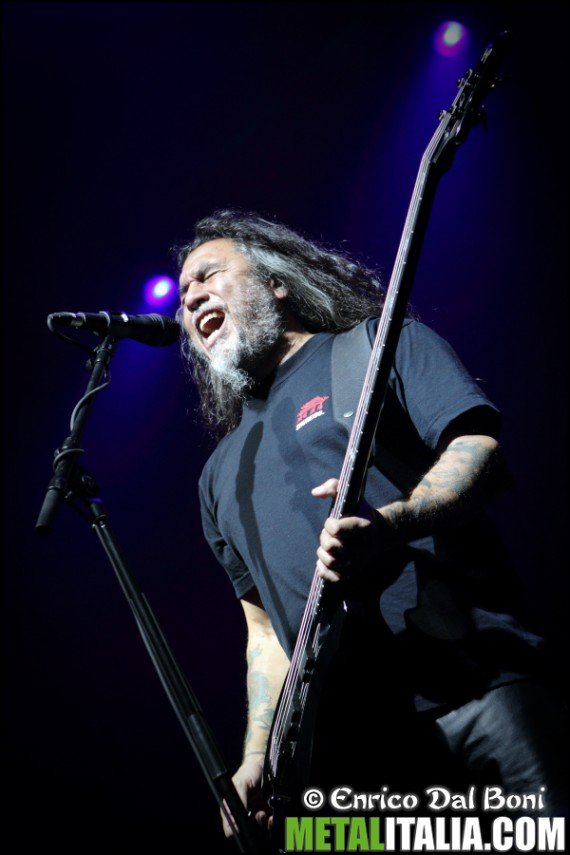slayer - tom araya live padova - 2013