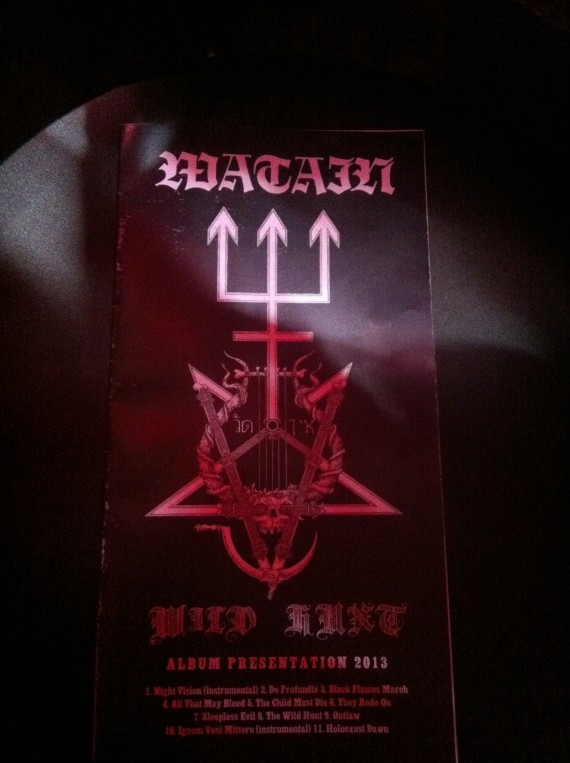 watain - listening session 2 - 2013