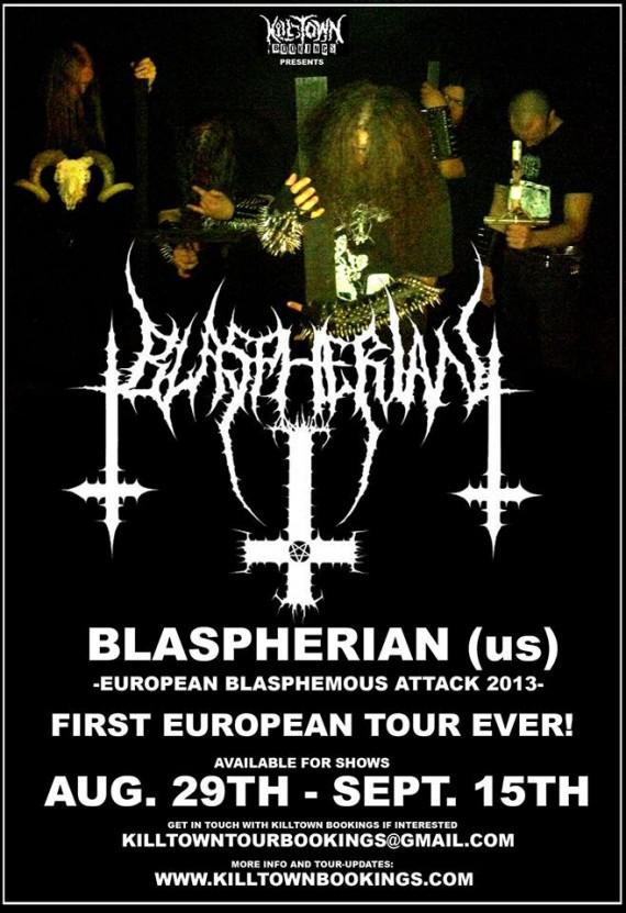 Blaspherian - flyer - 2013