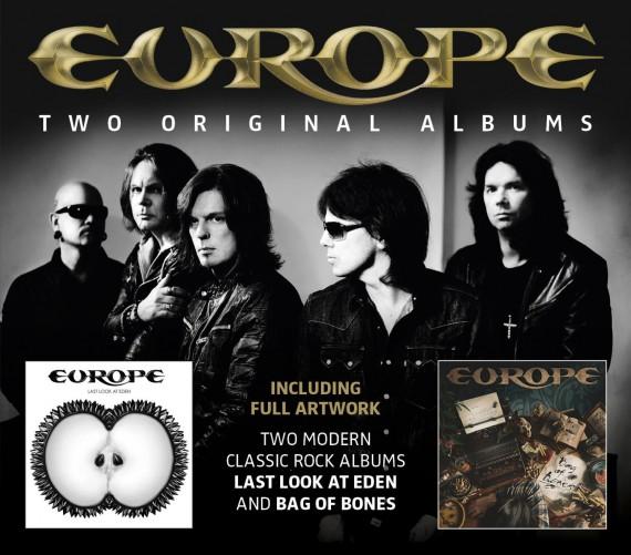 Europe - Last Look at Eden e Bag of Bones - 2013