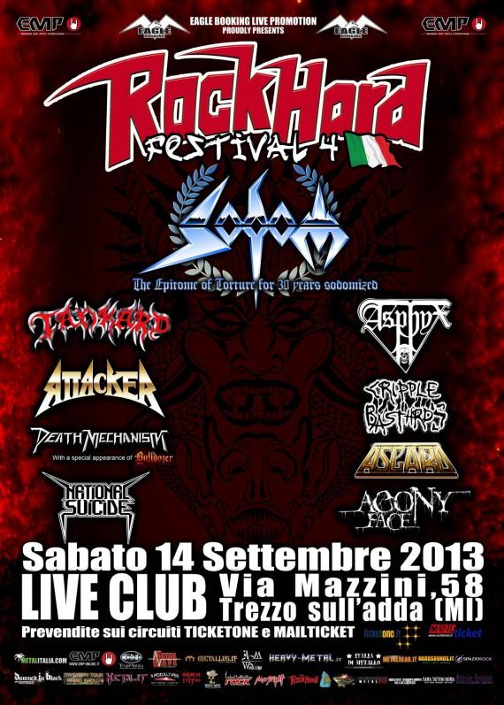 Rock Hard Festival - locandina -  2013