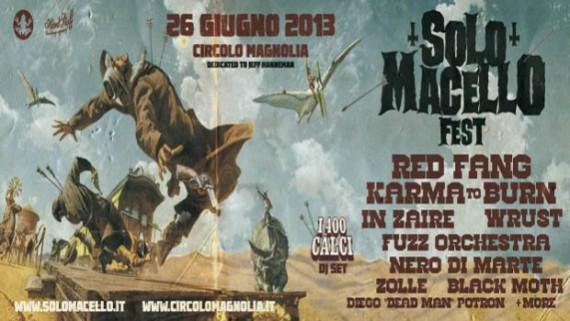 SoloMacello Fest - locandina - 2013