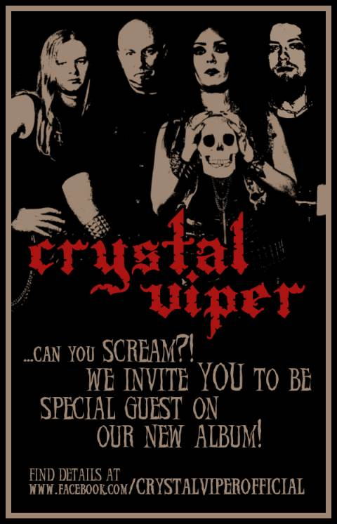 crystal viper - scream - 2013
