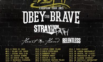 deez nuts - obey the brave - tour 2013