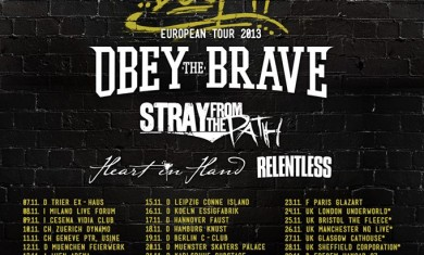deez nuts - obey the brave - tour 2013