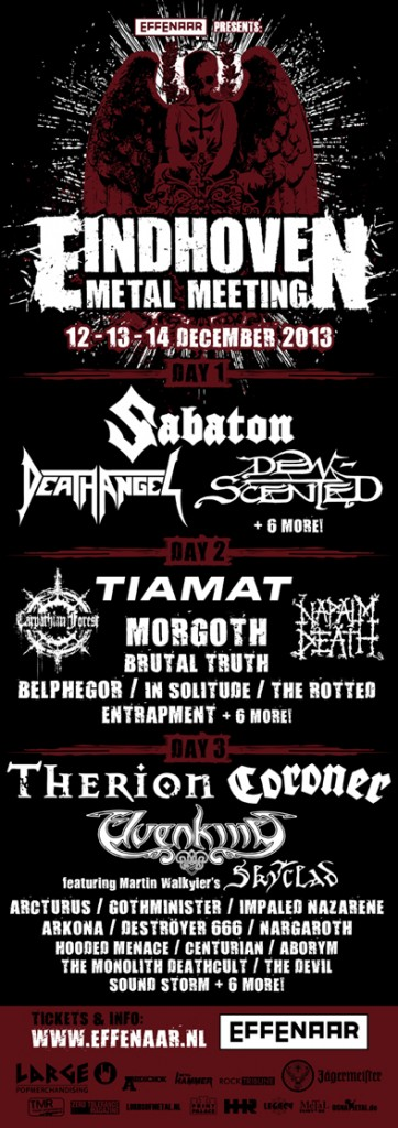 eindhoven metal meeting - flyer - 2013