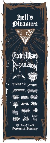 hell's pleasure - flyer 2013