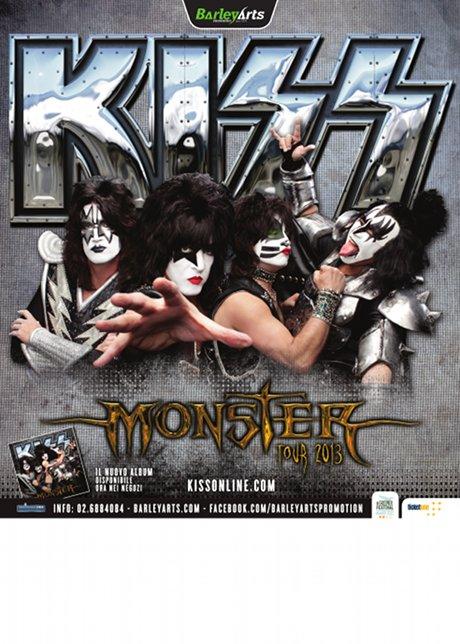 kiss - monster tour - 2013